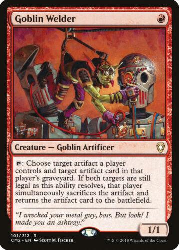 Goblin Welder Commander Anthology Volume II NM-M Red Rare MAGIC CARD ABUGames