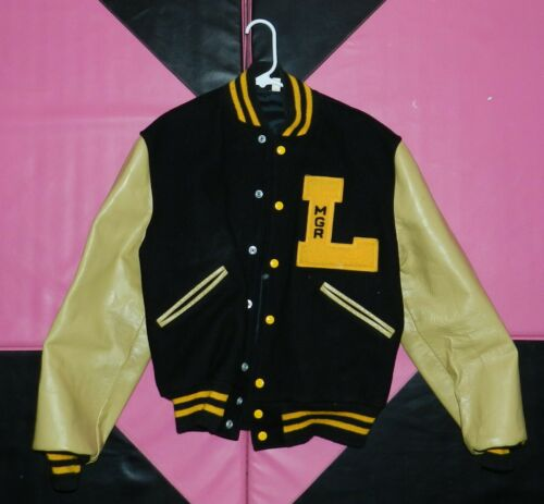 Authentic Lebanon IN Tigers high school varsity le