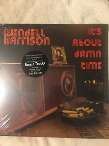 Wendell-Harrison-It-s-About-Damn-Time-LP-VG-to-VG-New-Sealed