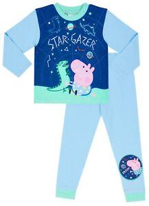 2b72a2becbd3 Dinosaur Peppa Pig Pyjamas 1 to 5 Years George Pig Pyjamas Star ...