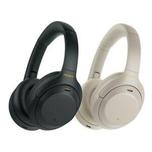 Sony WH-1000XM4 Casque sans fil à réduction de bruit Tout neuf Noir Argent