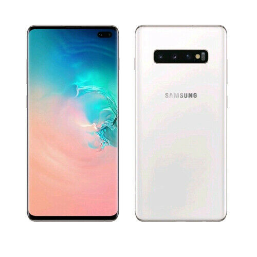 Samsung Galaxy S10+ Plus G975FD Dual 12+1TB Ceramic White ship from EU Mejor