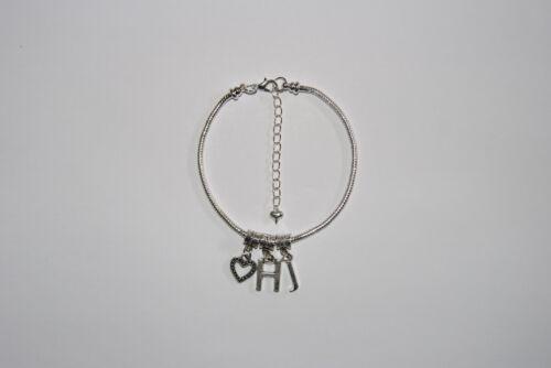 Hotwife Anklet /'/<3 HJ/' Love Handjob Euro Ankle Chain Jewellery Slut Lifestyle UK