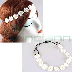 Fascia elastica Fiori fiore accessori capelli elastico cerchietto acconciatura