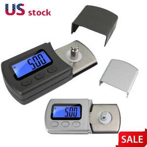 LED-Digital-Cartridge-Stylus-Tracking-Force-Scale-Gauge-0-01g-Fits-Tonearm-Phono