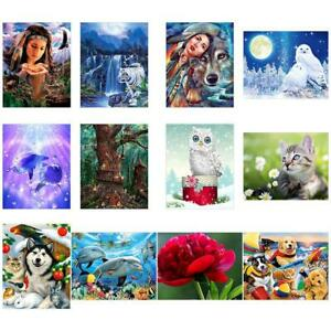 5D-DIY-Diamond-Painting-Full-Drill-Animals-Cross-Stitch-Embroidery-Mosaic-Kit