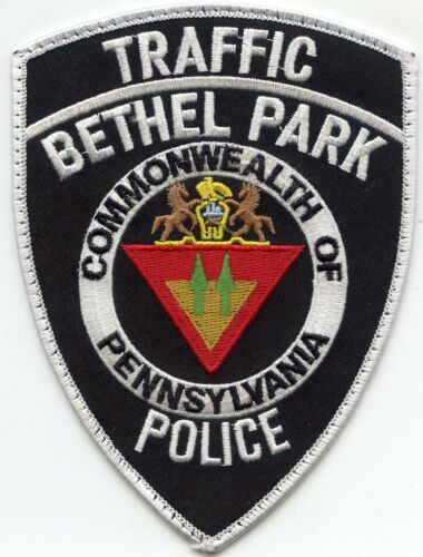 BETHEL PARK PENNSYLVANIA PA TRAFFIC POLICE PATCH