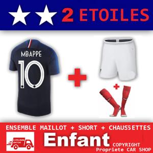 Ensemble-maillot-Short-Chaussette-Equipe-de-France-2-etoiles-N-10-MBAPPE