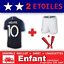 Ensemble-maillot-Short-Chaussette-Equipe-de-France-2-etoiles-N-10-MBAPPE miniature 1