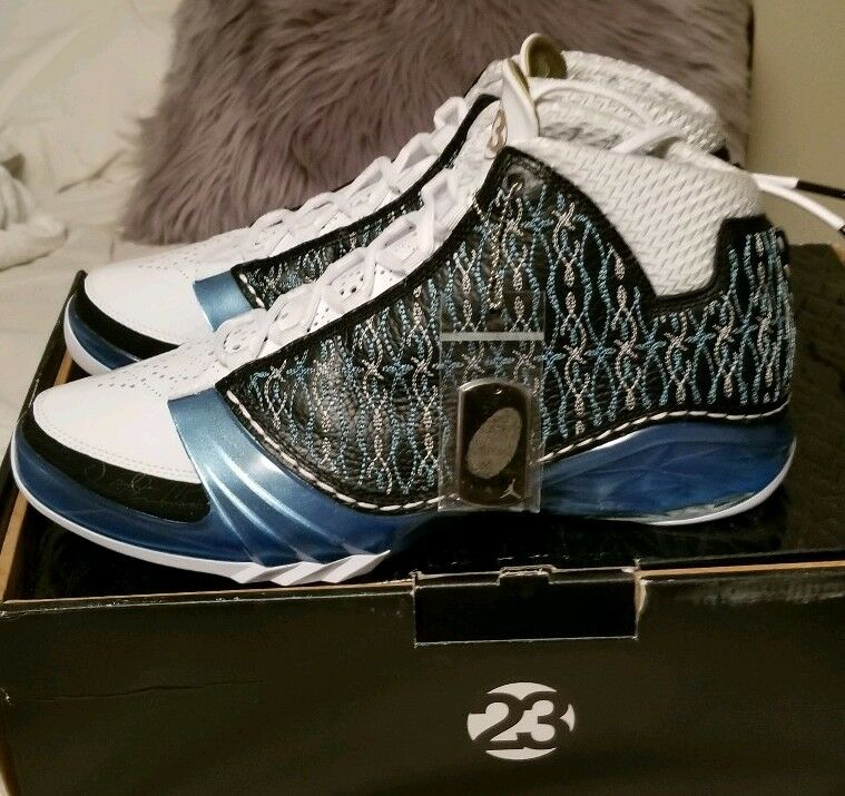 Nike air jordan XX3 23 Black University blue White  UNC  SIZE 12 (318376 041)