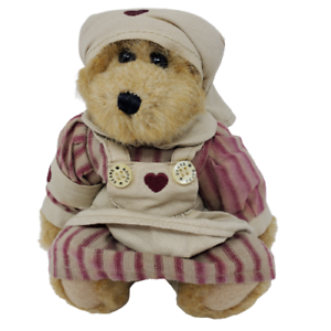 Boyds-Vintage-Bailey-Nurse-Bear-1998-Retired-Item-9199-09-Great-Stocking-Stuffer