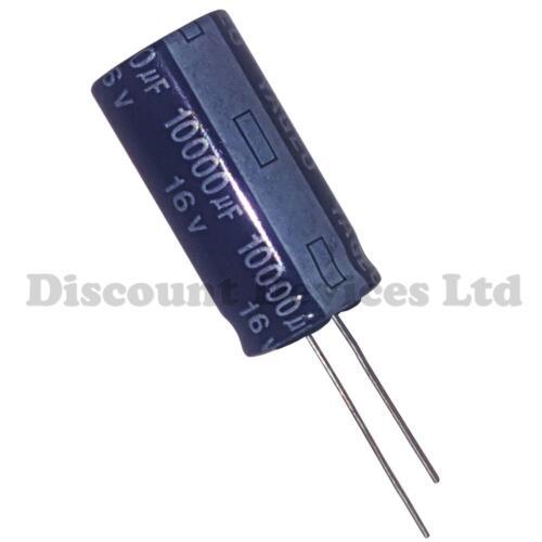 10000uF 16V Electrolytic Capacitor 85C