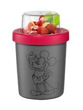 4er Set Disney To Go Trinkflasche,Fruchtbehälter,Joghurtbecher,Salatbox,Lunchbox