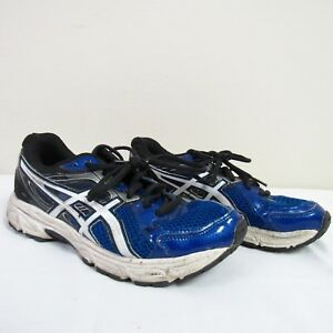 98315b6d3425 Asics Gel-Contend 2 Mens Athletic Running Shoes Blue Black White Sz ...