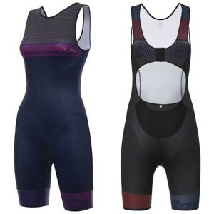 Santini-Sleek-776-Trisuit-Triathlon-Suit-New-NWT-Navy-Blue-Purple-XS