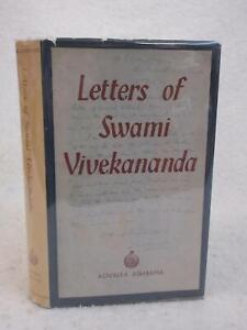 LETTERS OF SWAMI VIVEKANANDA 1976 Advaita Ashrama Calcutta HC/DJ 4thEd