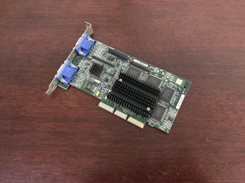 1PC MATROX G4+MDHA32G AGP 906-01 REV A