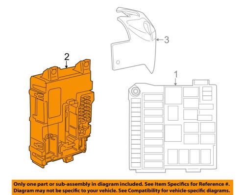 FIAT OEM 13-15 500-Body Control Module BCM 68104291AH