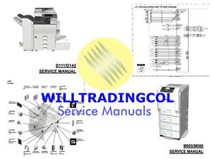 Ricoh Pro C751EX C651EX TAURUS Service manual parts and diagrams