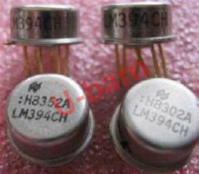CAN-6 LM194H 1PCS Mil Spec Supermatch Pair Precision Transistors IC NSC TO-99