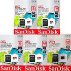 SanDisk Ultra 8GB 16GB 32GB 64GB 128GB Micro SD SDHC SDXC Class 10 Memory Card