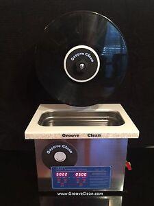 Ultrasonic Record Cleaner Groove Clean Vinyl Clean
