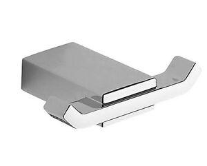 Accessori Bagno Kansas.Dettagli Su Accessori Bagno Porta Accappatoio Kansas In Alluminio E Cromall Cromo Lucido