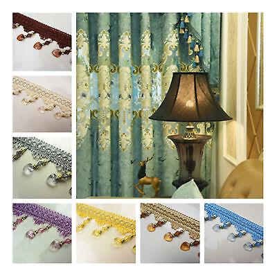 Blue Braid Fringe// Trim  1 Metre  Sewing//Costume//Crafts//Corsetry