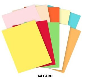 50 x A4 Cream Card Printer Craft Card 160gsm