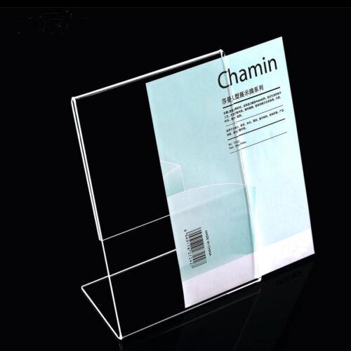 Tisch-Namensschild aus Acryl Aufsteller Display versch Größen hochwertig neu
