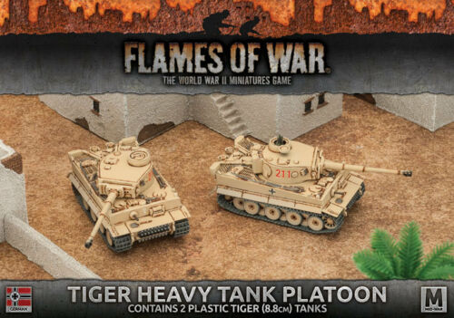 Flames of War: Tiger Heavy Tank Platoon GBX99