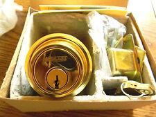 Schlage Everest Double Cylinder Deadbolt B562P 605 Polished Brass - C 123