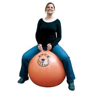 80 cm grand exercice Rétro Jump Space Hopper Play Ball Jouet Enfants Adulte Fête Jeu