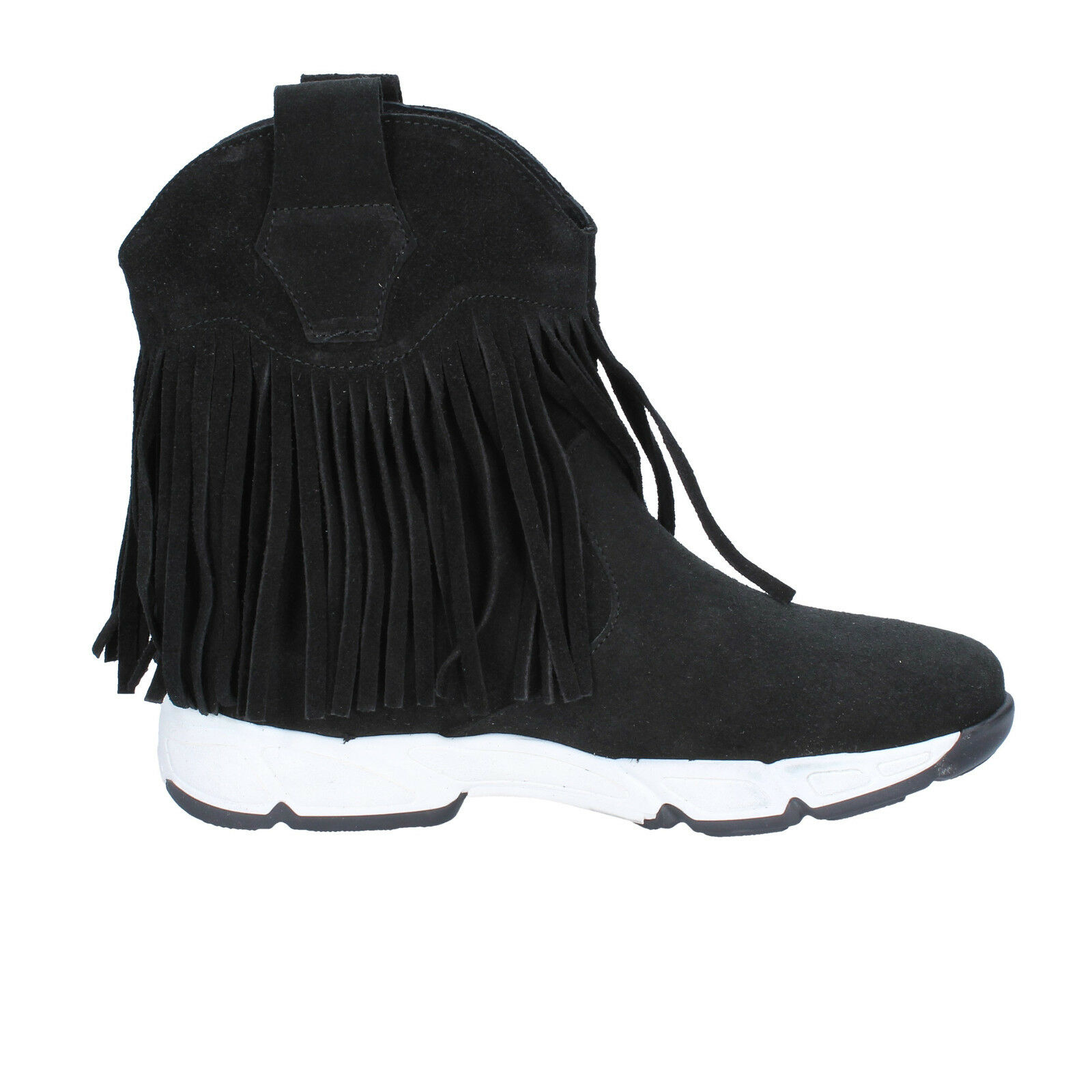 Women's shoes OLGA RUBINI 7 (EU 40) ankle ankle ankle boots black suede BX784-40 27343f