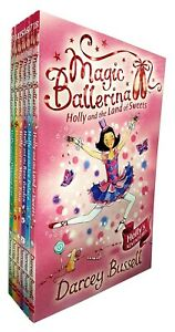 Magic-Ballerina-Darcey-Bussell-Holly-Series-6-Books-Collection-Set-BRAND-NEW
