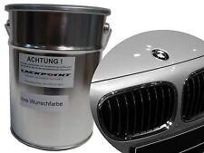 1 Litre Peinture De Base Pour Pulvérisation BMW X01 argent perlé Metallique