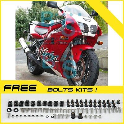 Complete Fairing Bolt Screws Kit For Kawasaki Ninja ZX7R 1996-2003 Silver