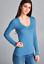 NEW-Plus-Size-Basic-Cotton-Stretch-V-Neck-Long-Sleeve-T-Shirt-Top-L-XL-1X-2X-3X