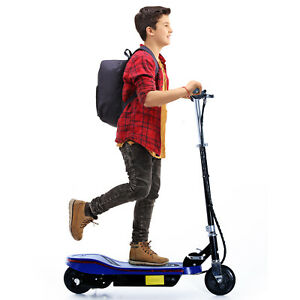 Electric-Scooter-Pro-E-Scooter-Folding-High-Speed-24V-4-5AH-Blue