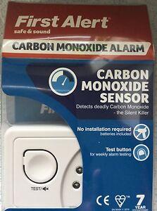 Carbon Monoxide Deadly Gas Alarm - Killer Gas - Safe & Sound by First Alert