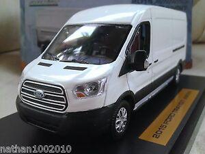 2015 Ford Transit Jumbo - White - Diecast Model Van 1/43 Greenlight 810166010047 | eBay
