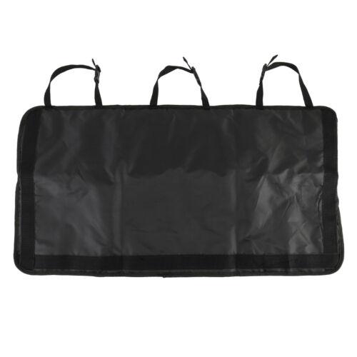 CAR BOOT TIDY SEAT ORGANISER STORAGE PROTECTORS COVER BACK 8 POCKET HANGING bags