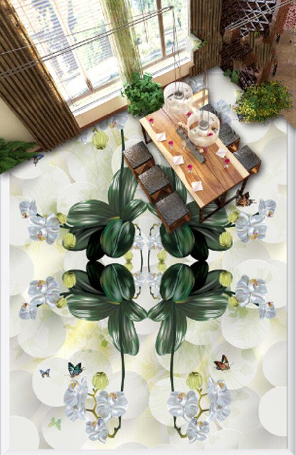 3D Butterfly Floral 87 Floor WallPaper Murals Wall Print Decal AJ WALLPAPER US