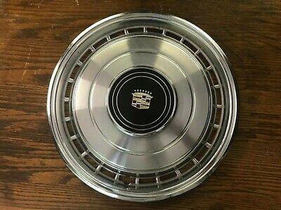 Vintage 1979 Cadillac Deville Fleetwood Hubcap * Black ...