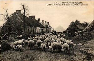 CPA-Le-Mont-Saint-Michel-Greves-du-Mont-Saint-Michel-Une-Rue-632921