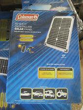 Coleman 30 Watt 12 Volt Crystaline Solar Panel 30W 12V Free Shipping