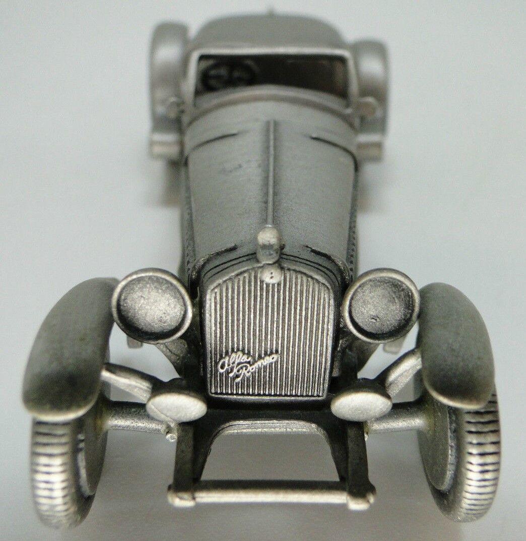 1 Alfa Romeo Sport Race Car Vintage Antique 24 Exotic 43 Concept 18 Metal Model