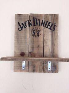 image is loading jack daniels drink shelf handmade reclaimed pallet wood