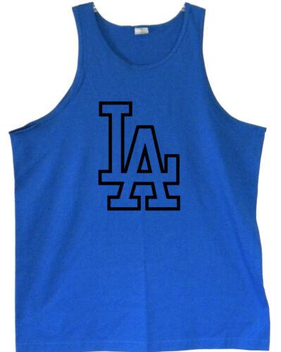 S//M//L//XL La Dodgers Logo Homme Débardeurs * 2XL//3XL Tailles