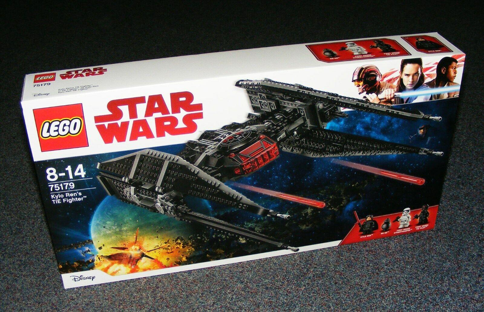STAR WARS LEGO 75179 Kylo REN'S TIE FIGHTER neuf scellé Entièrement neuf dans sa boîte